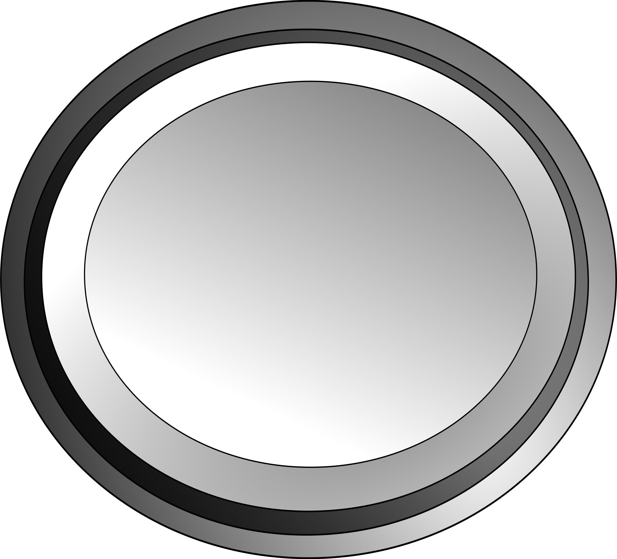 18 White Button Icon.png Images - Computer Power Button ...