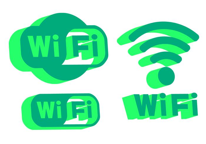 Wi-Fi Logo Vector