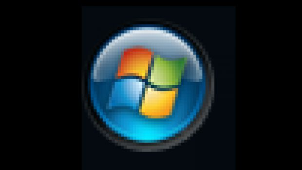 Windows Vista Start Menu Button