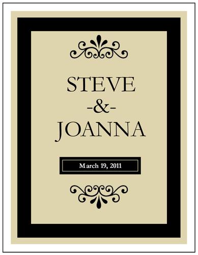 Wine Bottle Label Templates
