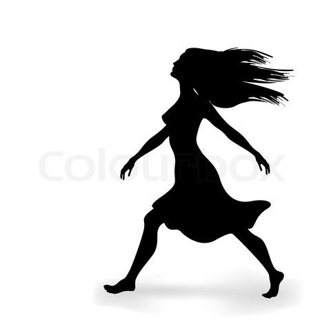 16 Walking Silhouette Vector Free Images - Silhouette ...