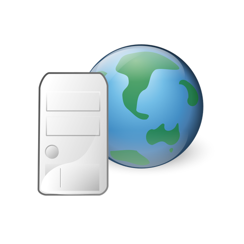 World Wide Web Icon Clip Art