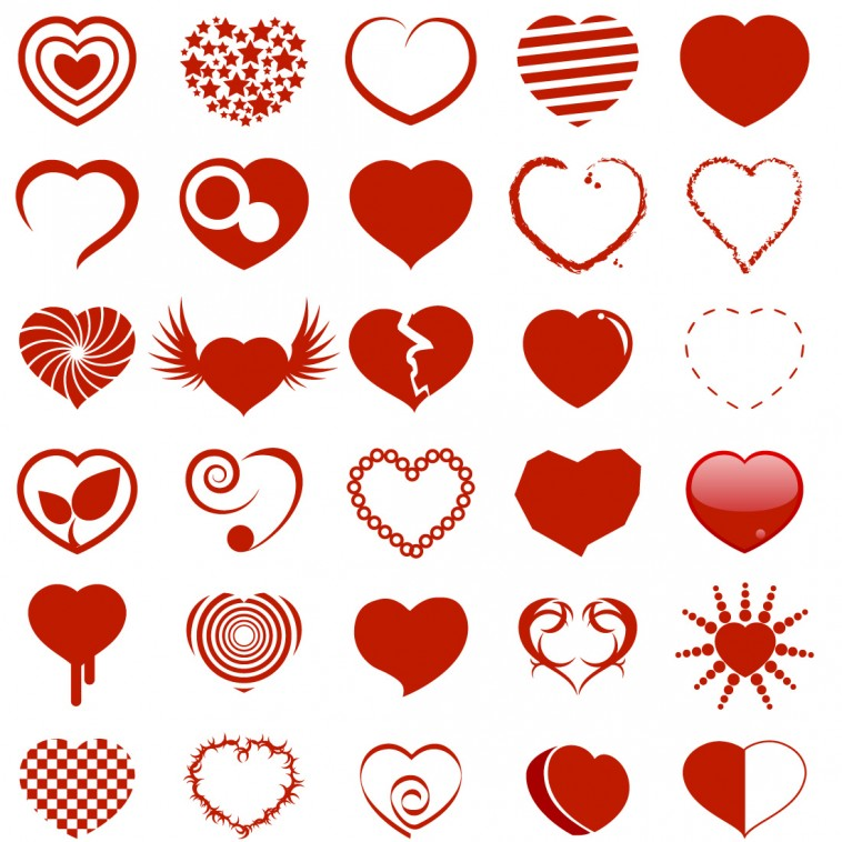 Cute Heart Icons