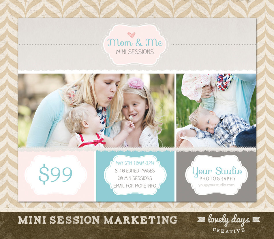 Free Mother's Day Mini Session Template