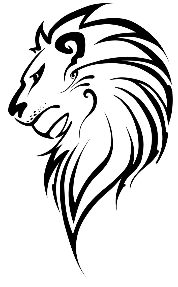 14 Lion Line Drawing Vector Images - Lion Face Line ...