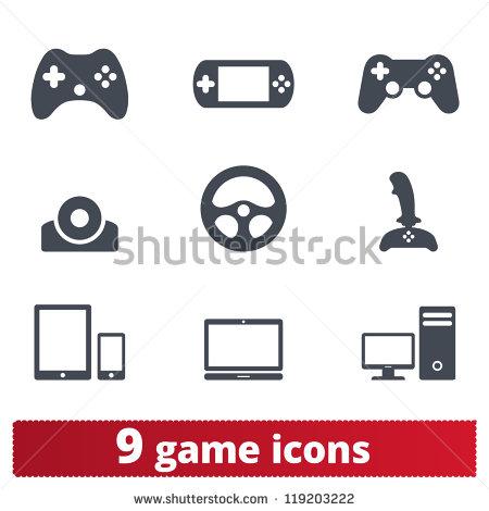 Vector Game Controller Icon