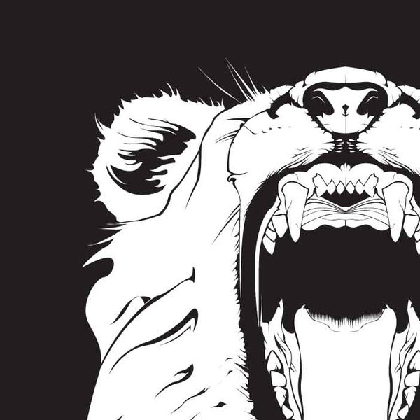 15 Vector Drawings Of Lions Heads Images