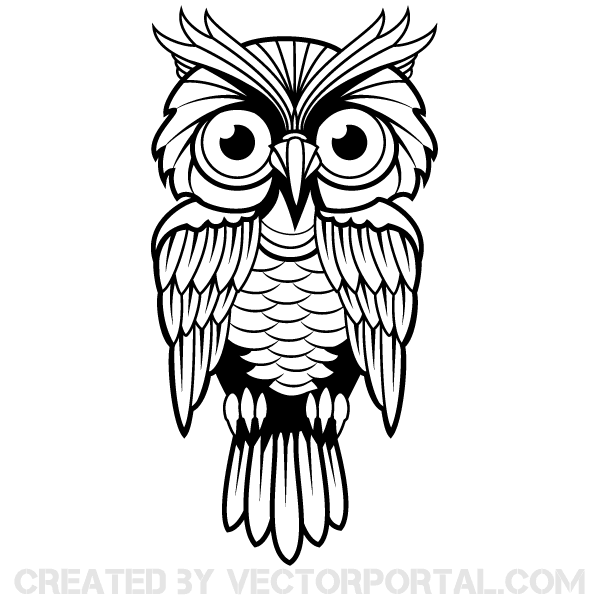 15 Free Owl Vector Art Images
