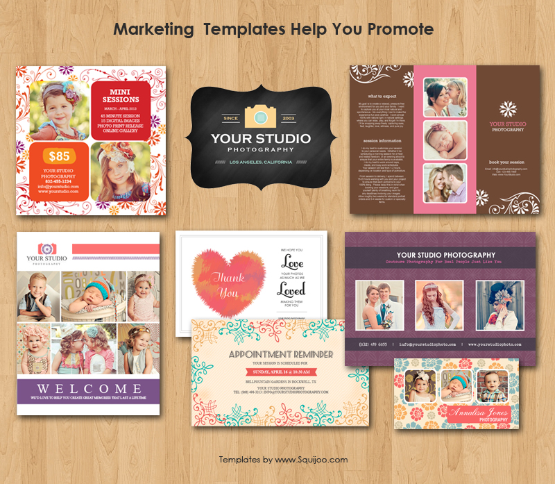 14 Photoshop Templates For Photographers Images - Free Photoshop ...