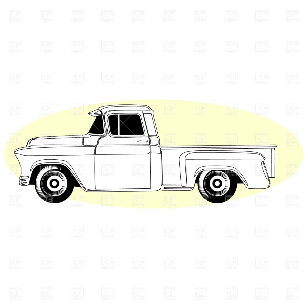 11 Chevy Truck Vector Images