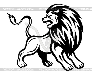 12 Angry Lion Vector Art Images