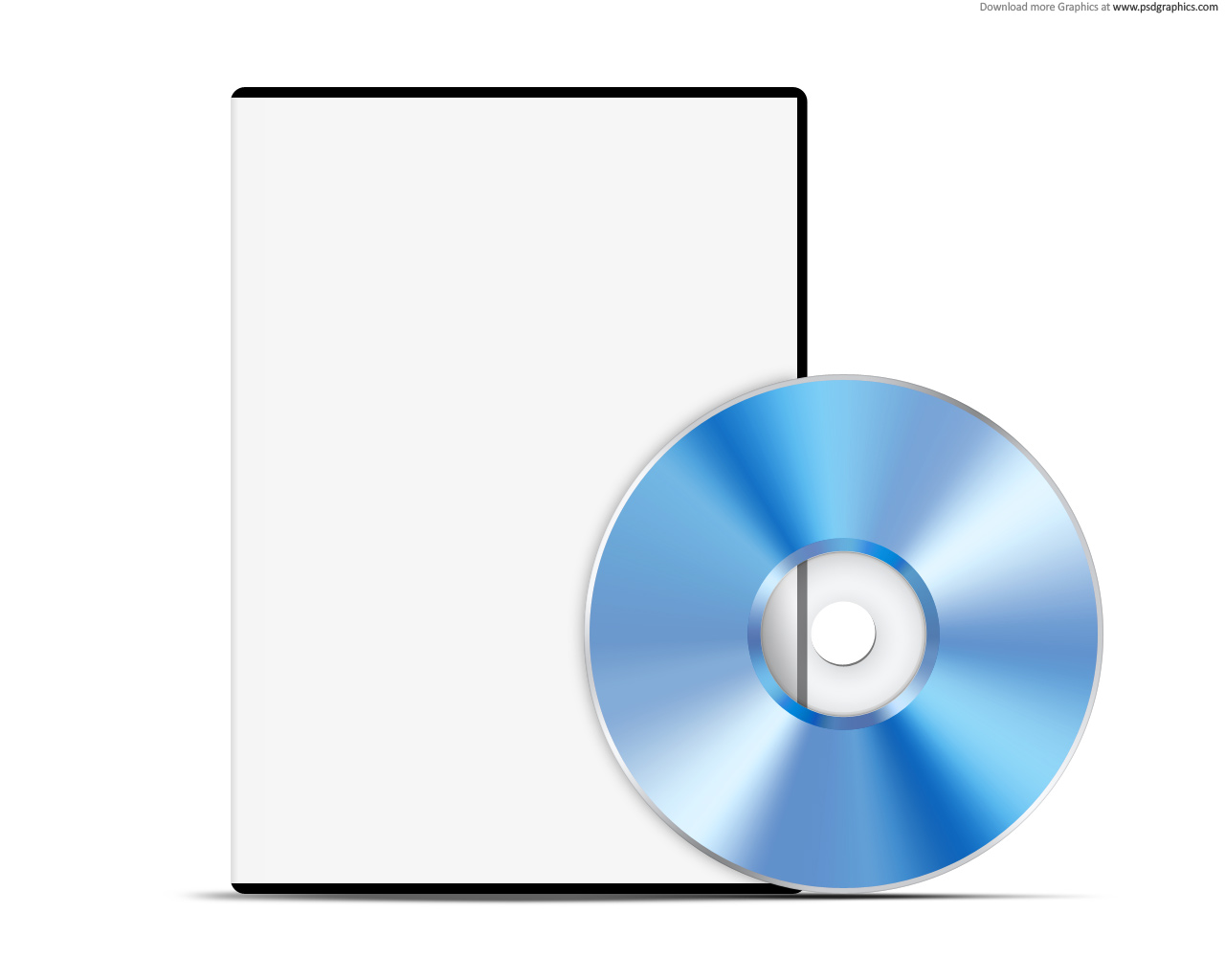 15 Blank DVD Cover Template PSD Images