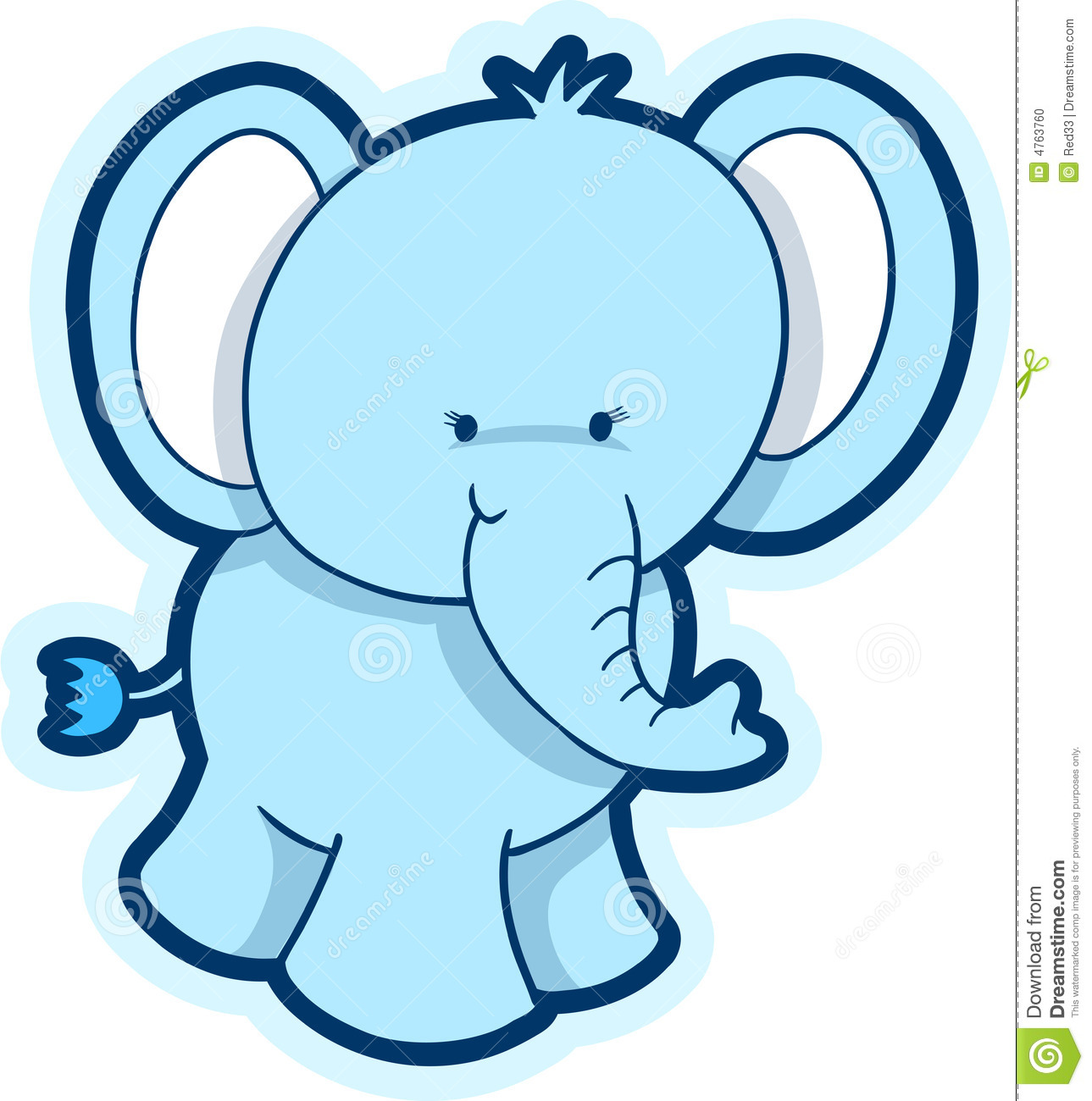 15 cute elephant vector graphics images cute baby Elephant Silhouette Clip Art Baby Elephant Clip Art