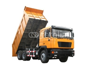 12 Yellow Dump Truck Vector Images