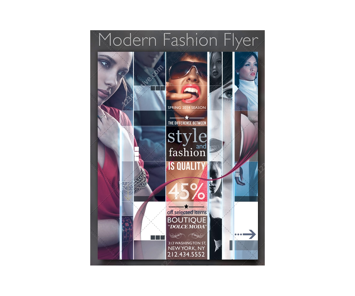 Fashion Magazine Cover Templates
