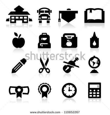 16 Vector School Icon Images