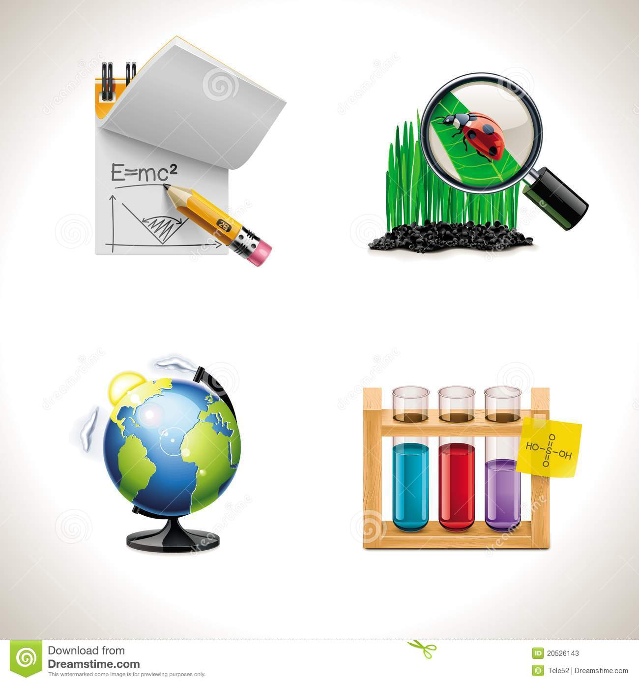 Vector Icons School