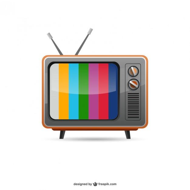 Vintage TV Vector