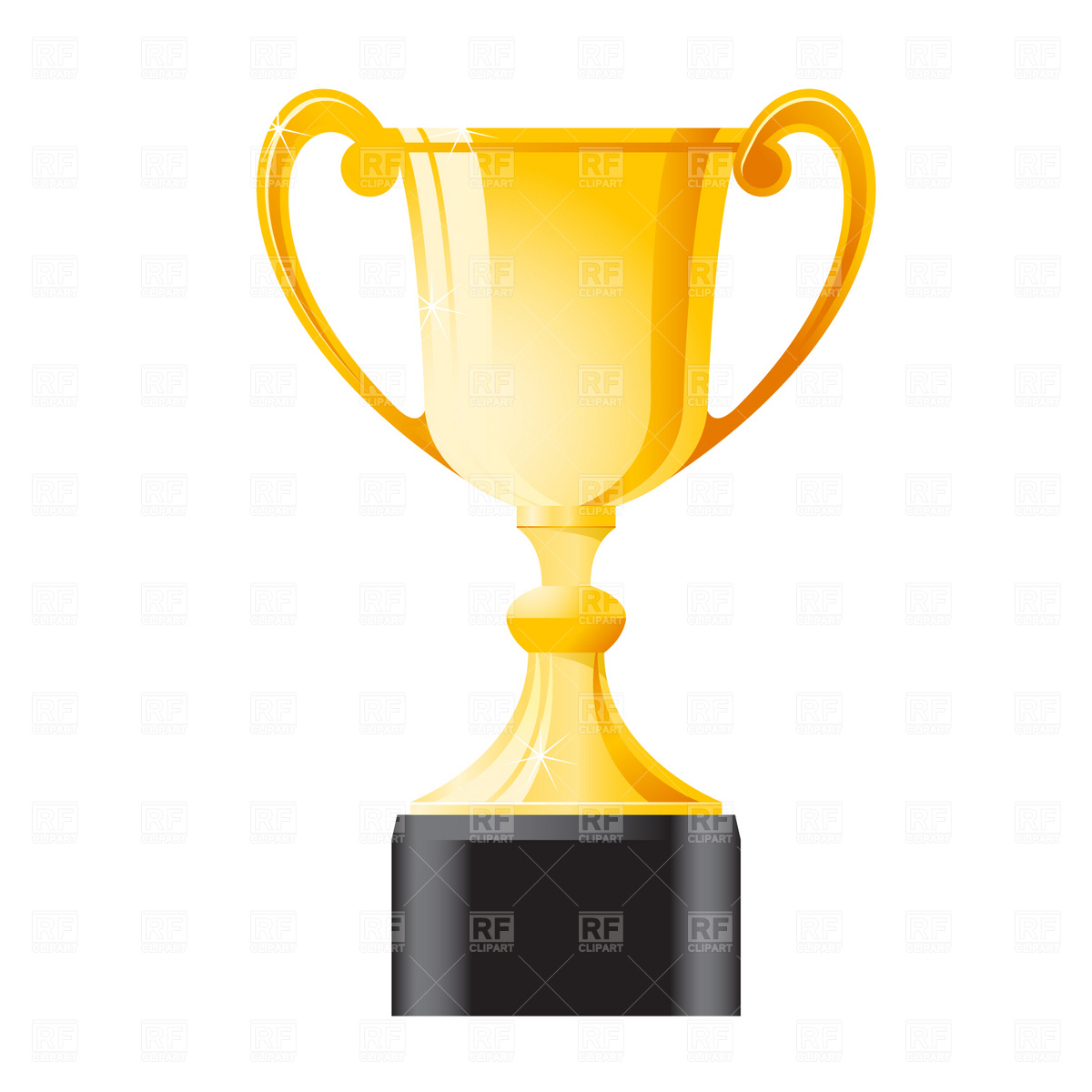 15 Large Trophy Vector Art Images