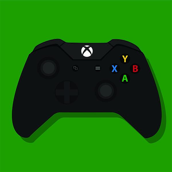 Xbox One Controller Vector