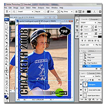 Free Baseball Trading Card Template Photoshop