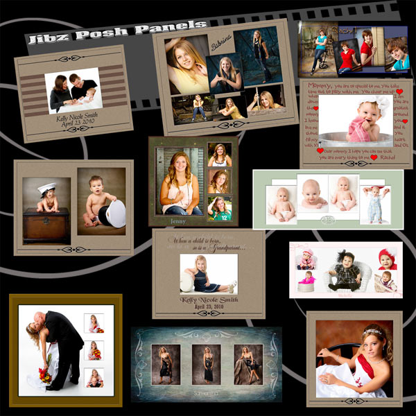 12 grunge collage template psd images twitter templates for Wedding photo album templates in photoshop