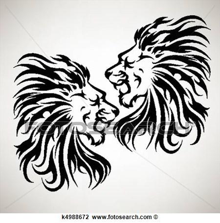 Lion roar vector - photo#9