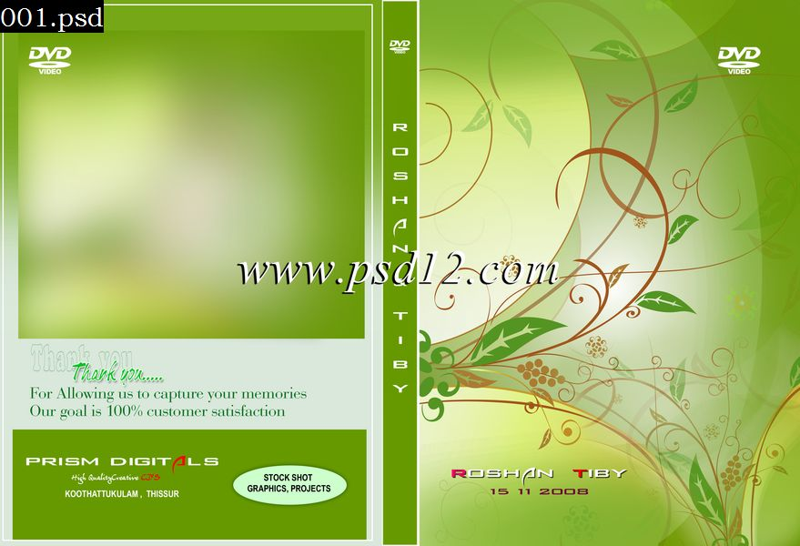13 Photoshop DVD-Cover PSD Images