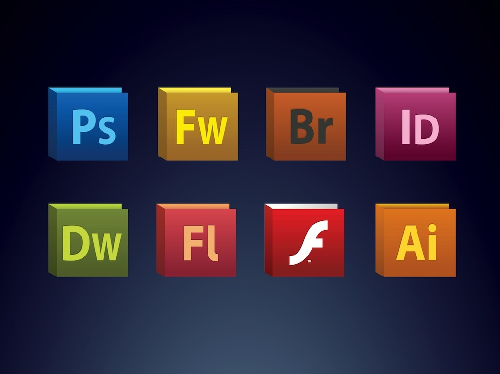 15 Adobe Suite Icons Vector Images Adobe Creative Suite