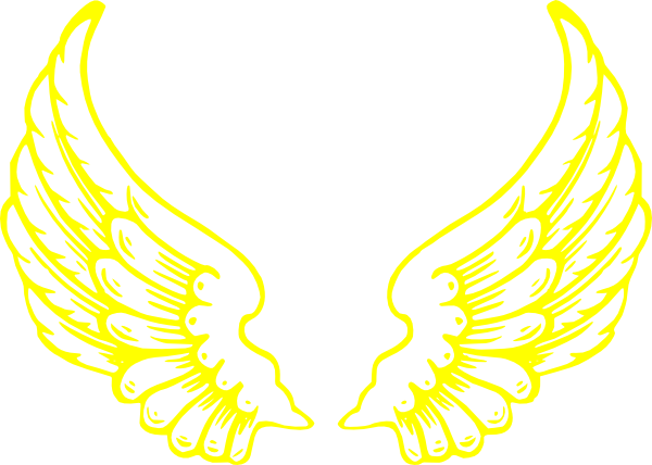 13 Gold Angel Wing Vector Art Images