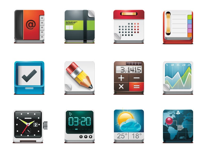 14 Application Icon Pack Images