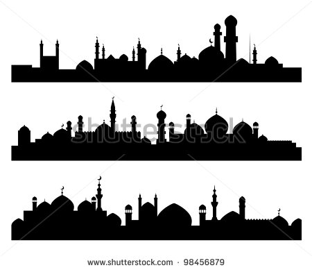 Arabian City Silhouette