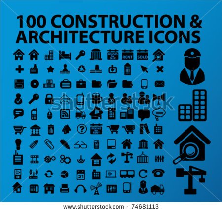 Architecture and Construction Icons