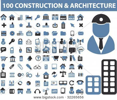 Architecture Construction Icon