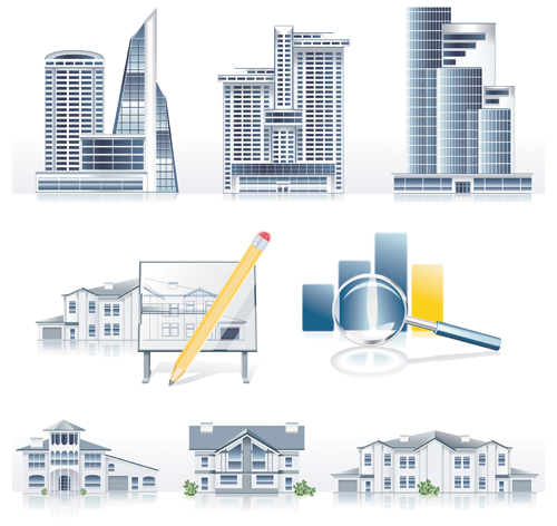 Architecture Elements Vector