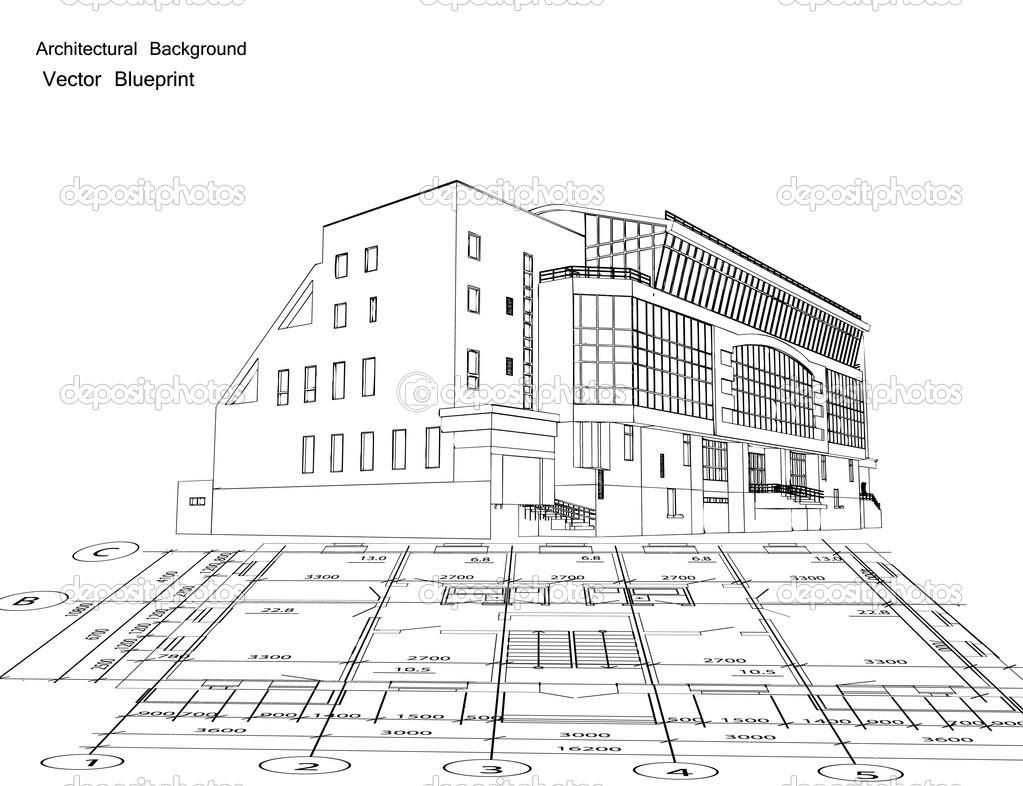 Architecture House Blueprint