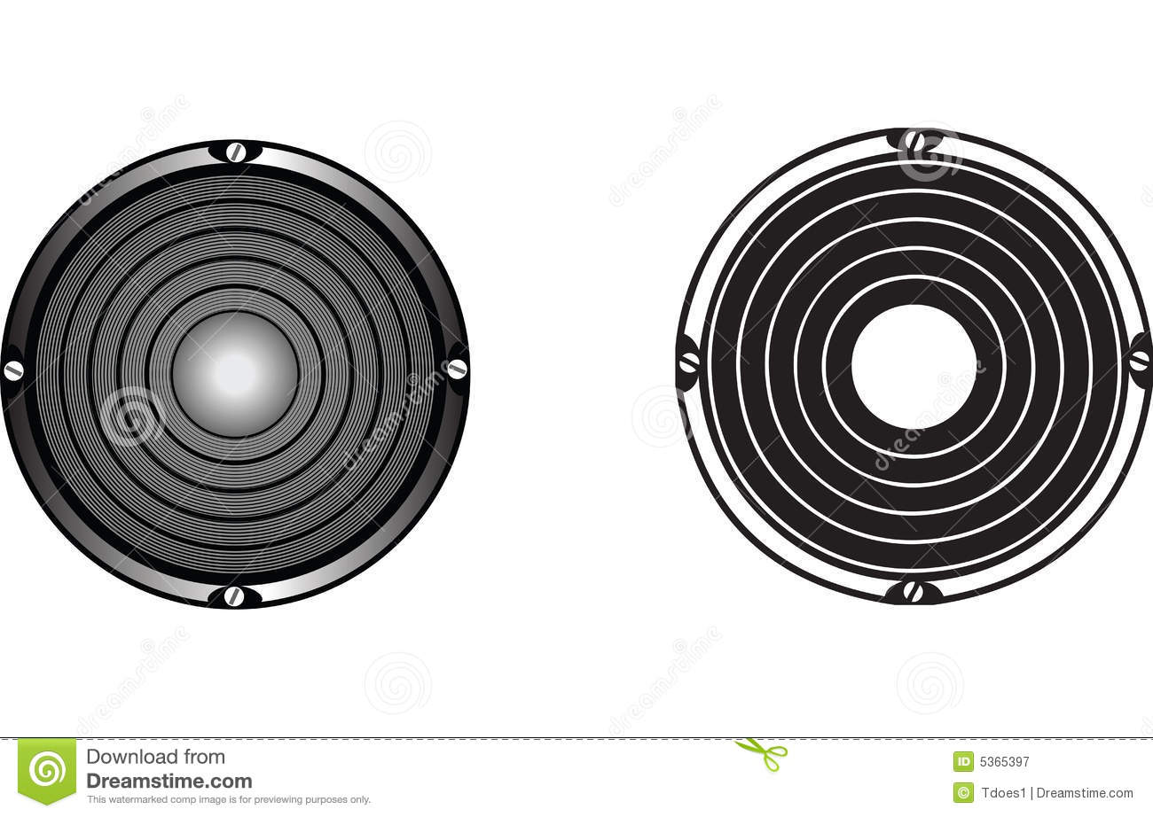 13 Speaker Vector Art Vintage Images