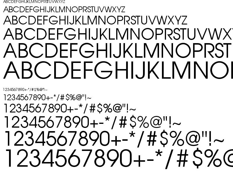 Avant-Garde Font