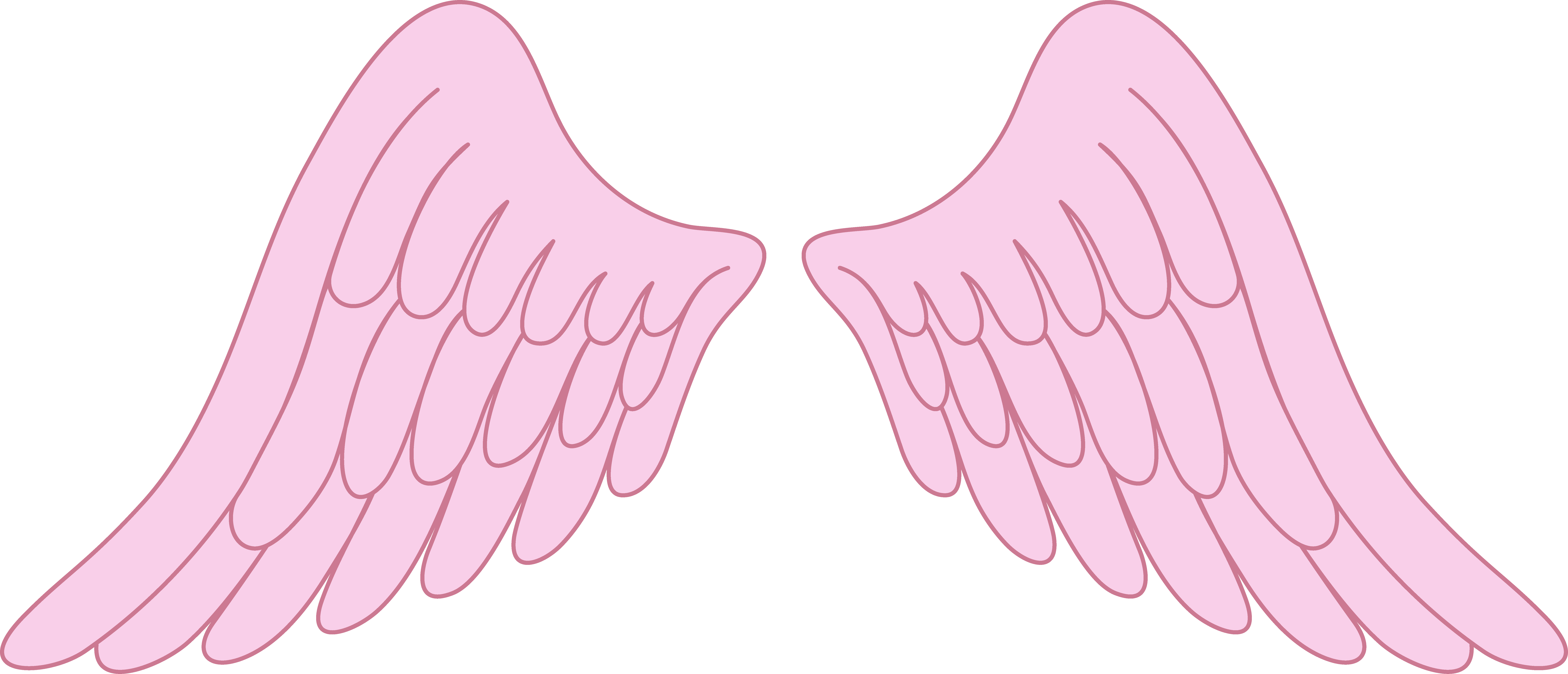15 Baby Angel Wings Vector Art Images