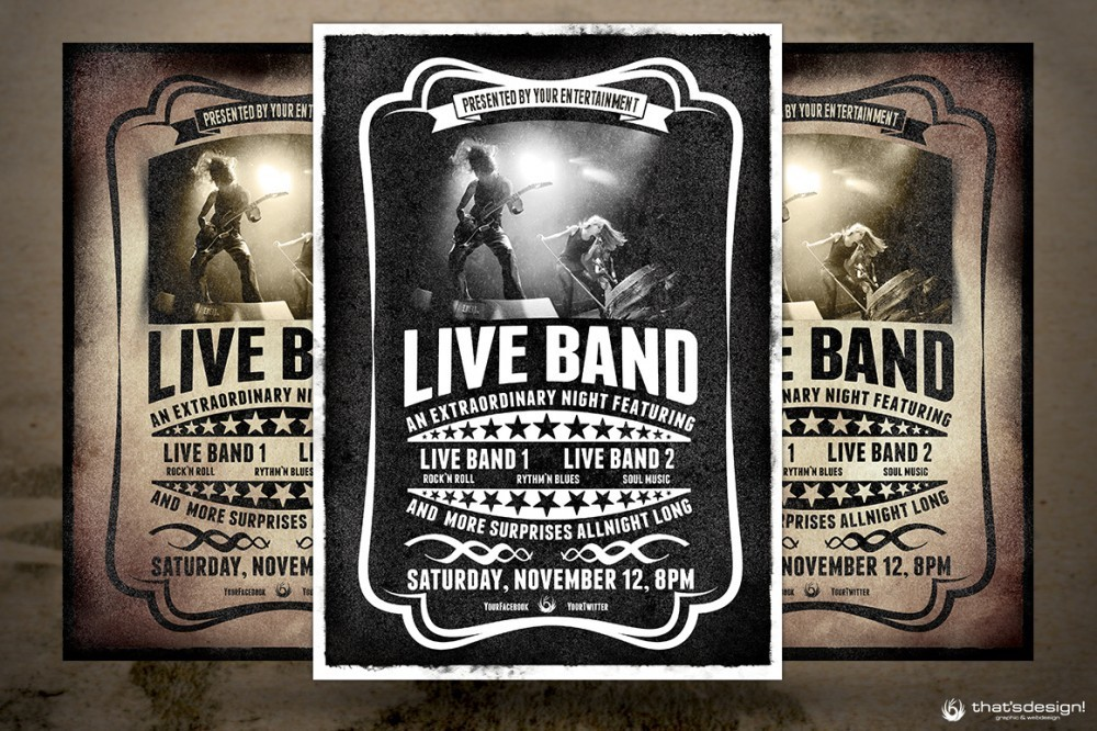 Band Concert Flyer Template