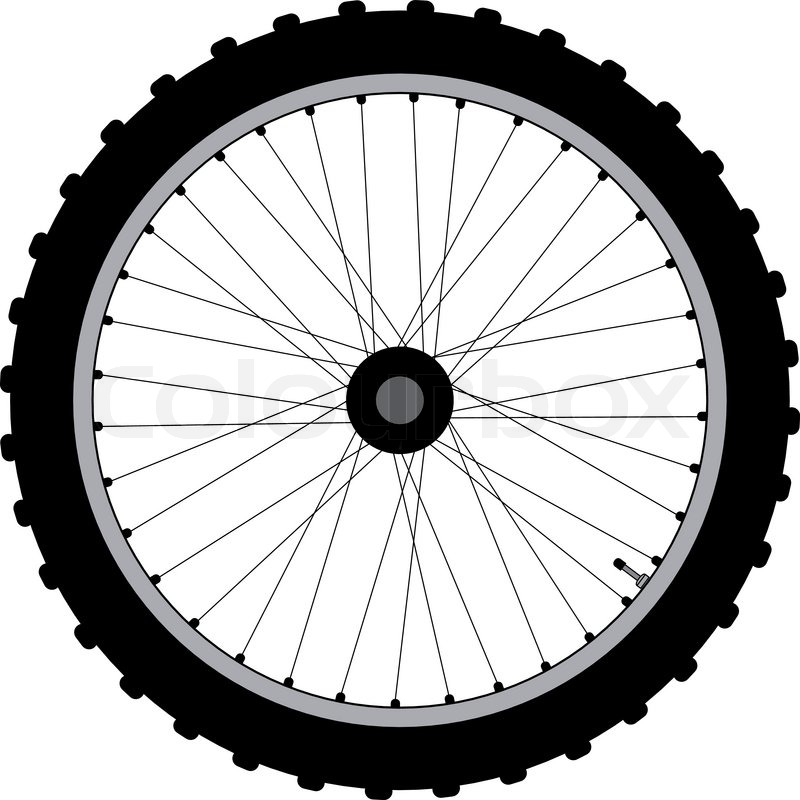 Bicycle Wheel Clip Art