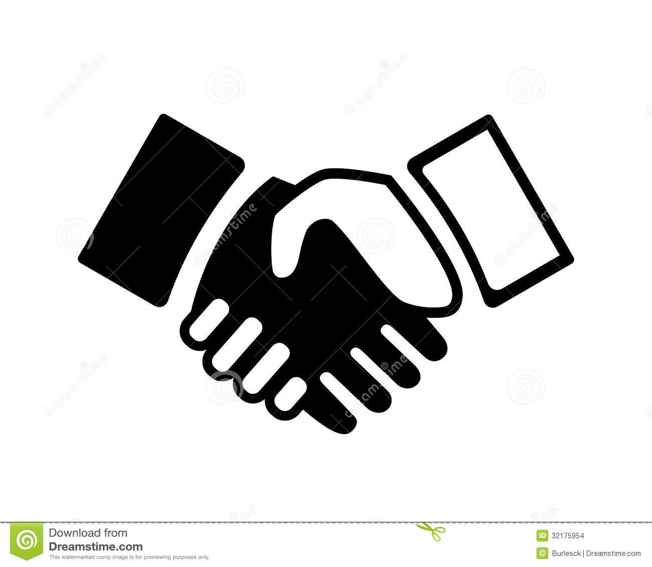 10 Handshake Icon Vector Images