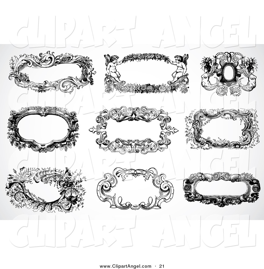 15 Vintage Text Box Vector Images - Decorative Text Box ...