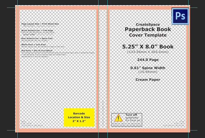 Book Cover Template For Photo ~ Booklet template photoshop images book cover