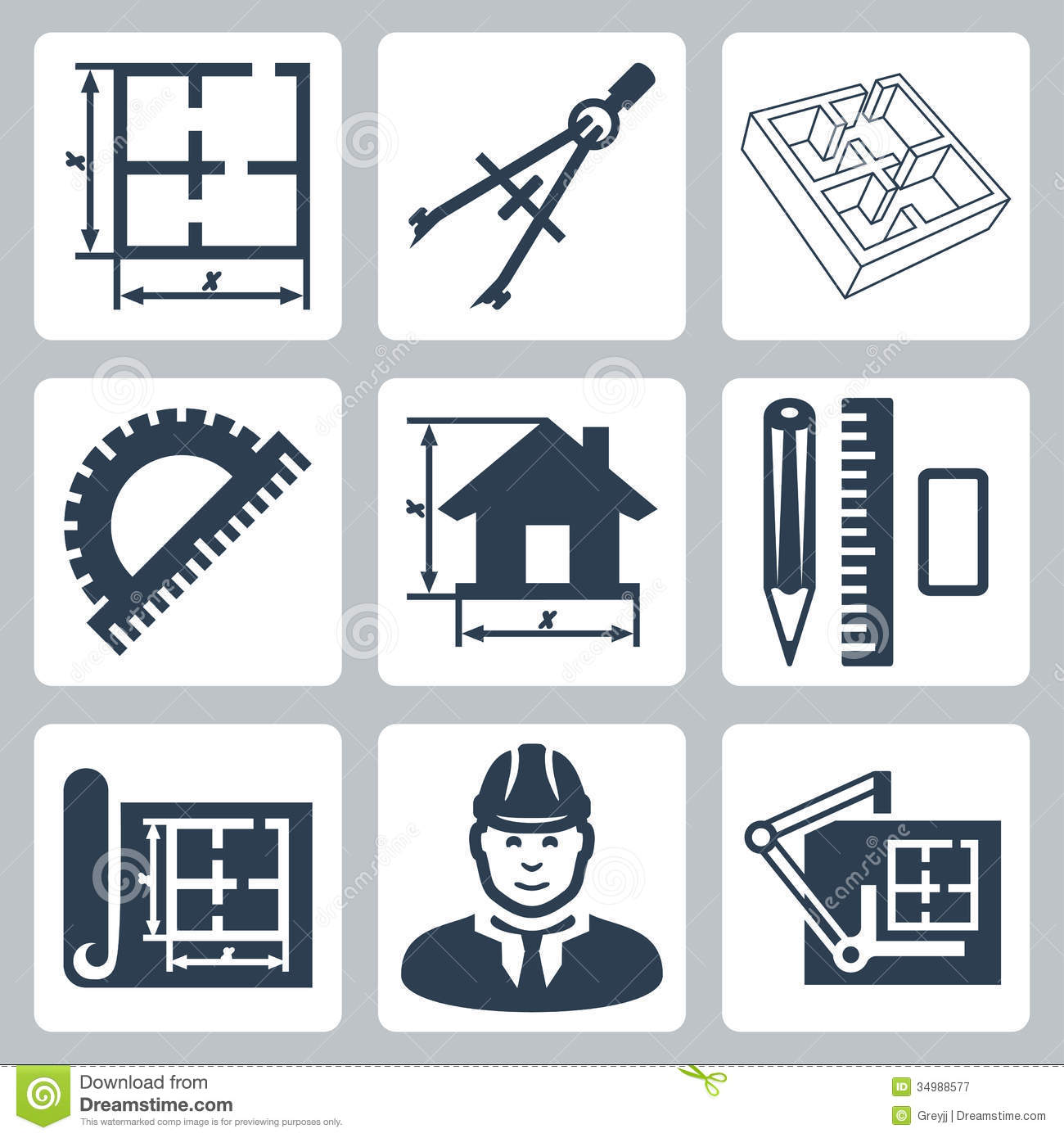 Building Icon Blueprint