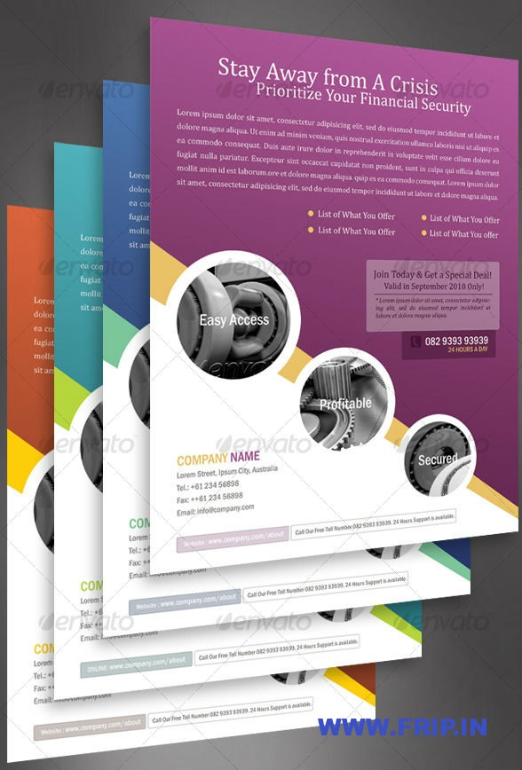 10 Business Flyer Templates Photoshop Images