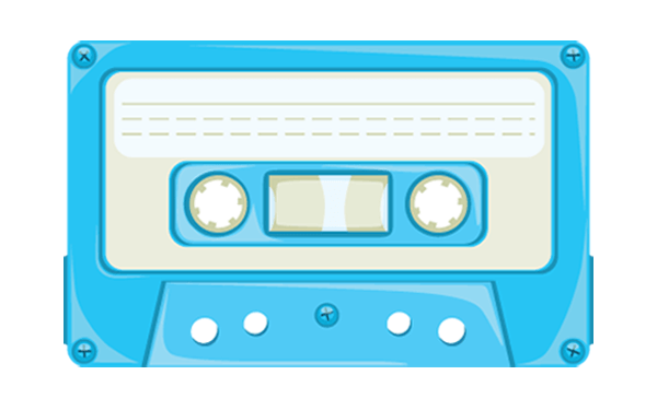 13 Cassette Tape Vector Images