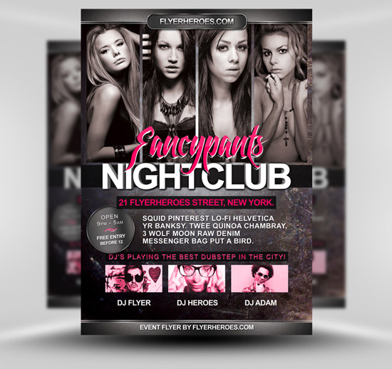 Club Flyers Templates Free Download