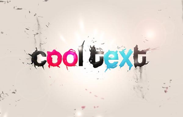 16 Typography Cool Photoshop Effects Images