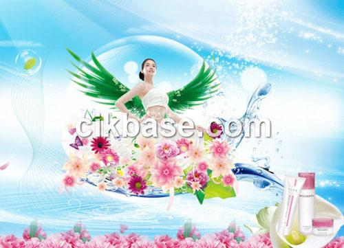 Cosmetics Advertising Designs
